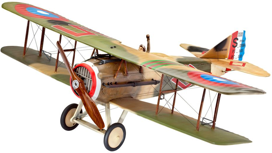 Revell Wwi Fighter Spad Xiii 1 28 Scale Plastic Model