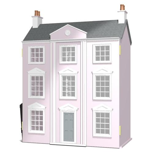 The Classical Georgian Dolls House Kit By Dolls House