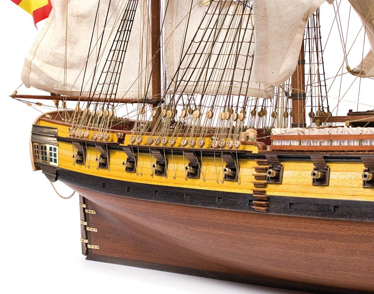 Occre N S Mercedes Spanish Frigate Model Ship Kit 14007