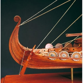 how to build a model viking longboat