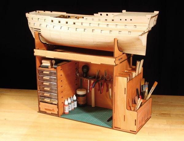 Occre Portable Workshop Cabinet Workstation 19110 Hobbies