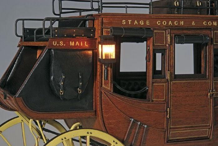 Artesania Latina 1848 Stage Coach 1 10 Scale Museum