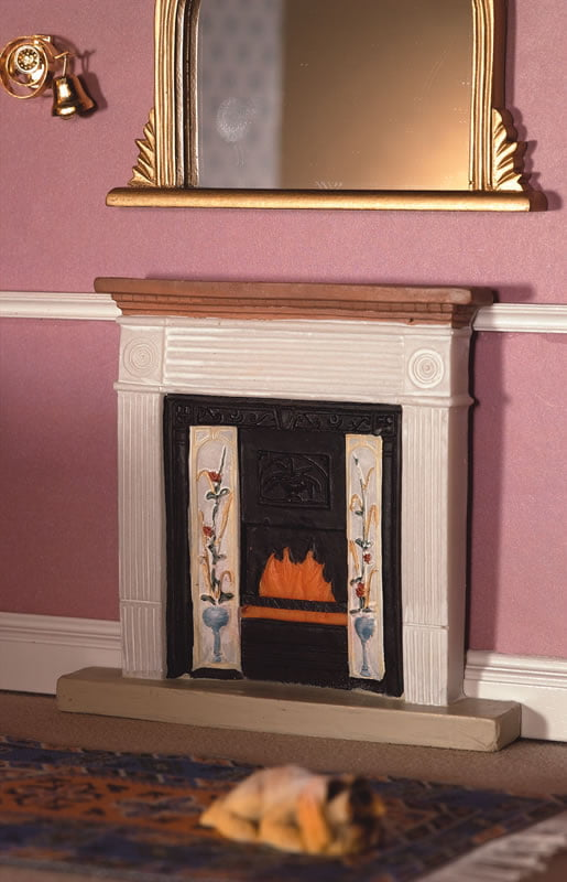 12th Scale Victorian Fireplace From Dolls House Emporium