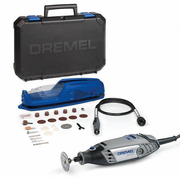 Dremel 3000-1//25 Series Multi Tool C//W Acc Kit