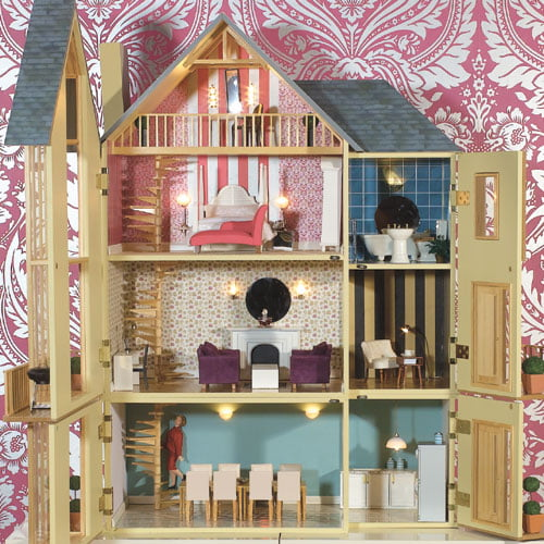 Lake View Dolls House Kit From Dolls House Emporium