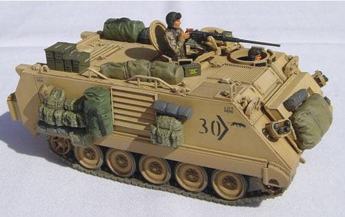 Tamiya U.S. M113A2 Armoured Personnel Carrier Desert ...