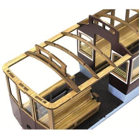 Occre San Francisco Cablecar Model Kit 53007 Occre Model