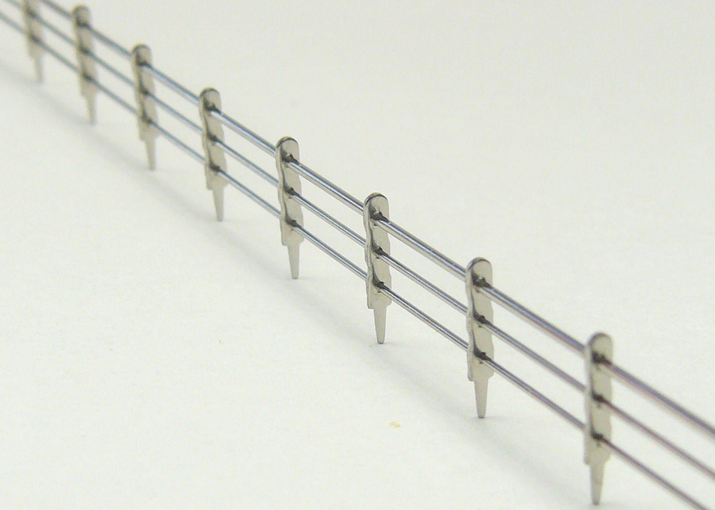 Triple Railings Pre Made Railing 3 Rail 250mm X 7mm