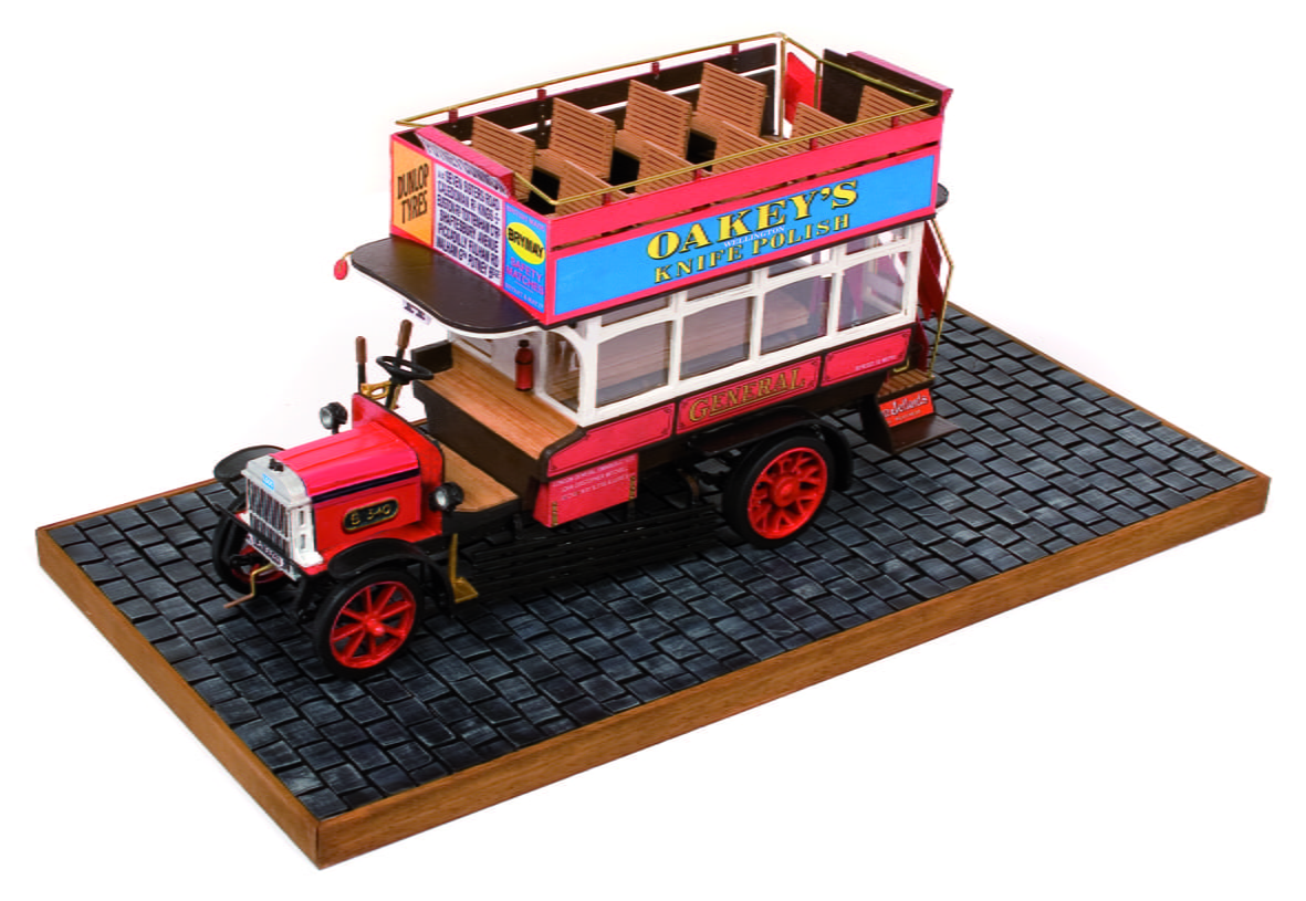 Building The Occre London B Type Bus Model Kit