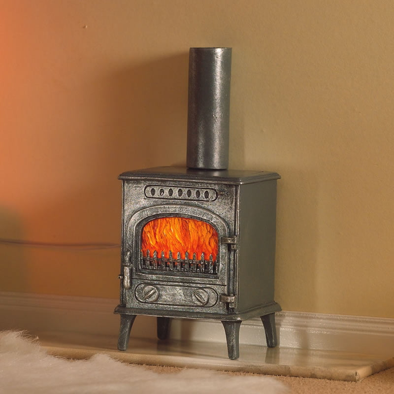 Wood Burning Stove 1:12 Scale For Dolls House From Dolls