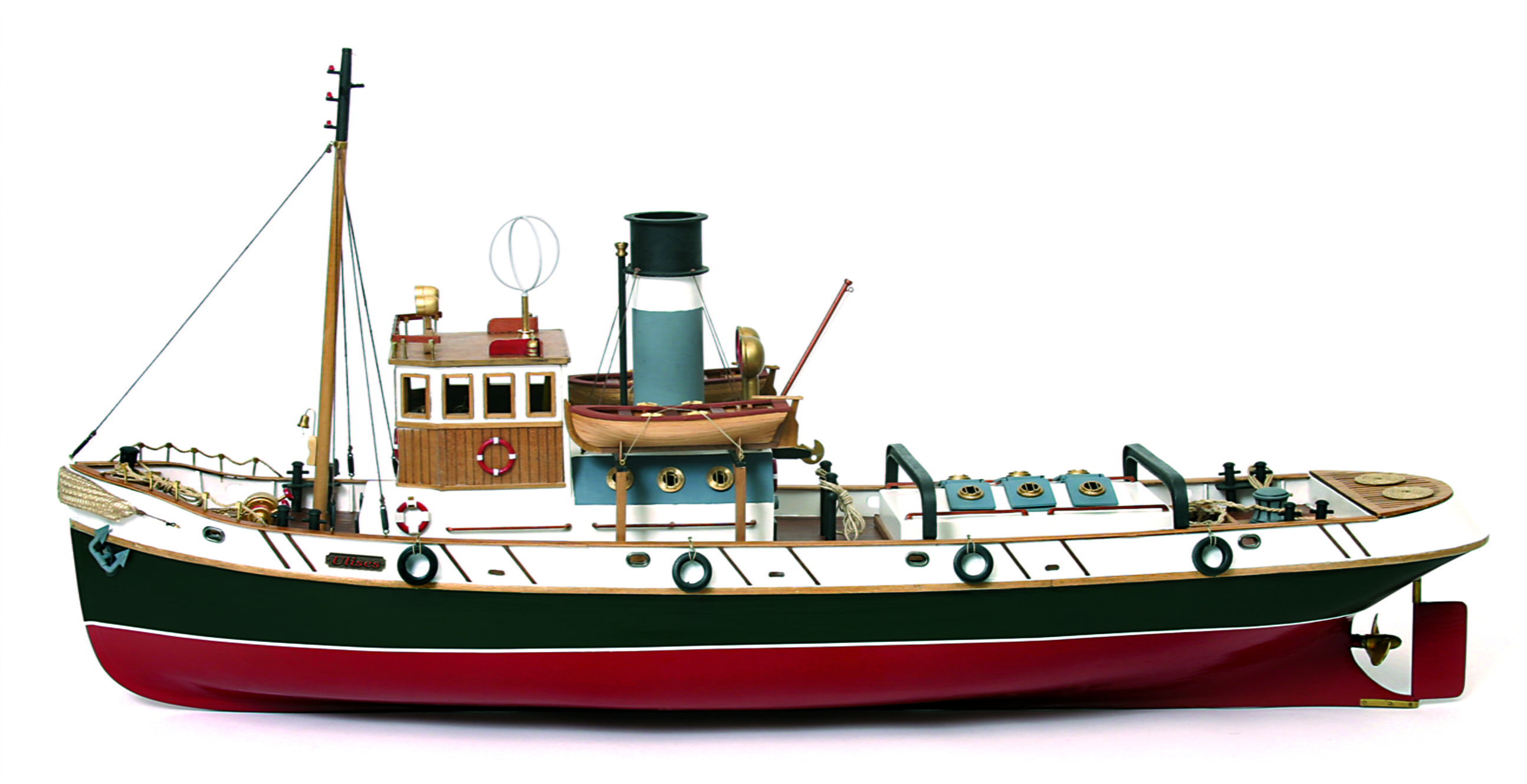 Occre Ulises Tug 1:30 Scale Model RC Wood & Metal Boat Kit| Hobbies