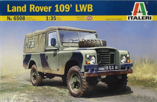 Italeri Land Rover 109 Lwb British Royal Army 1 35 Scale