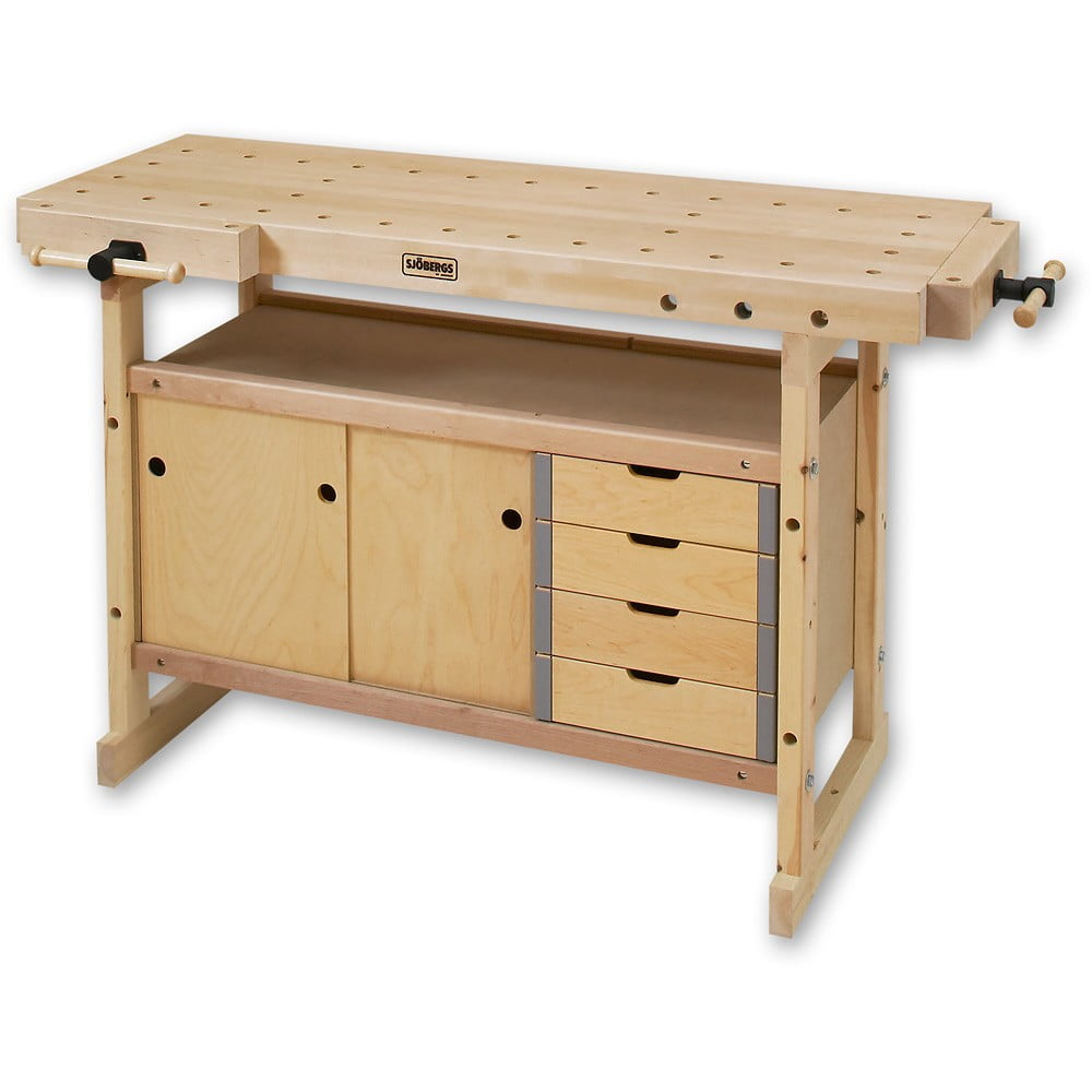 Sjobergs Nordic Plus Workbenches With Storage Module