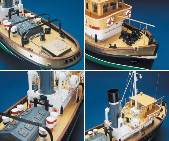 Mantua Models ANTEO Tug Boat Kit   Hobbies