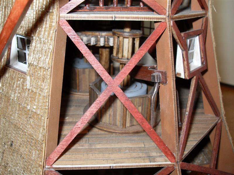 Amati Dutch Windmill 1 30 Scale Quality Wooden Model Kit