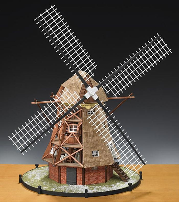 Amati Dutch Windmill 1 30 Scale Quality Wooden Model Kit