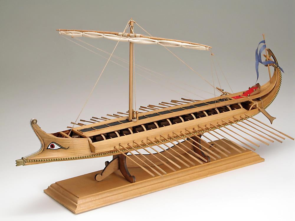 Amati Greek Bireme 480bc Wooden Model Ship Kit 1404