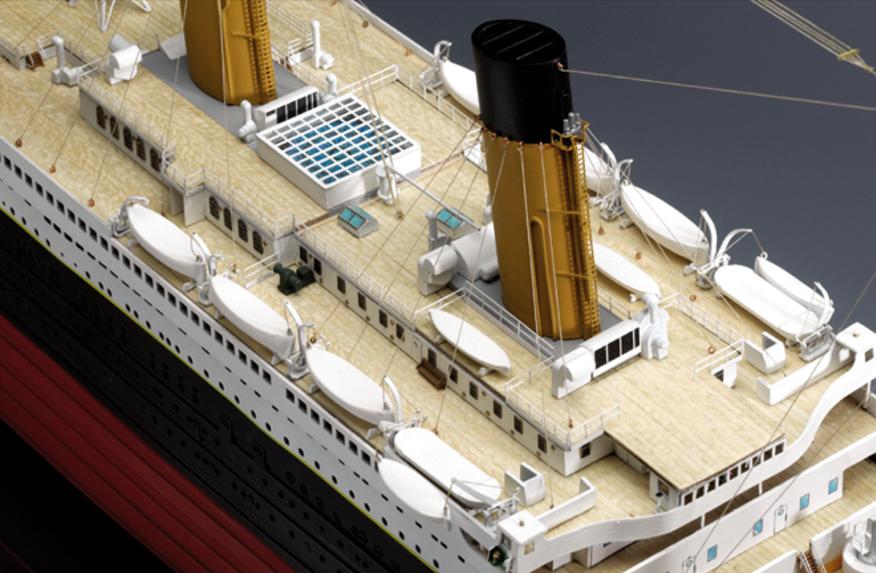 Amati Titanic Rms 1912 Model Ship Kit 1250th Scale