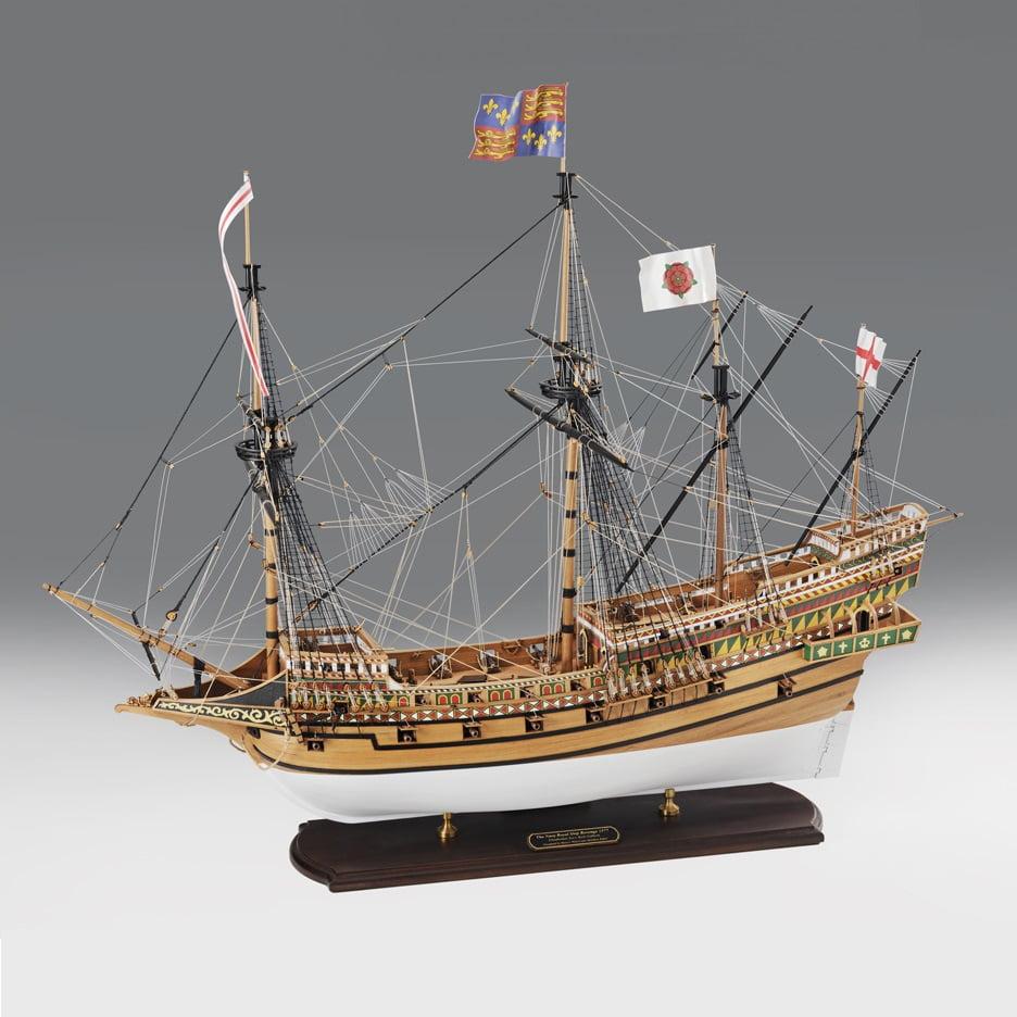 Amati Victory Models Revenge 1577 Elizabethan Navy Royal Warship 1:64 Scale Model Ship Kit HPS ...