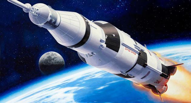 Revell Apollo Saturn V 1:144 Scale Advanced Plastic Model ...