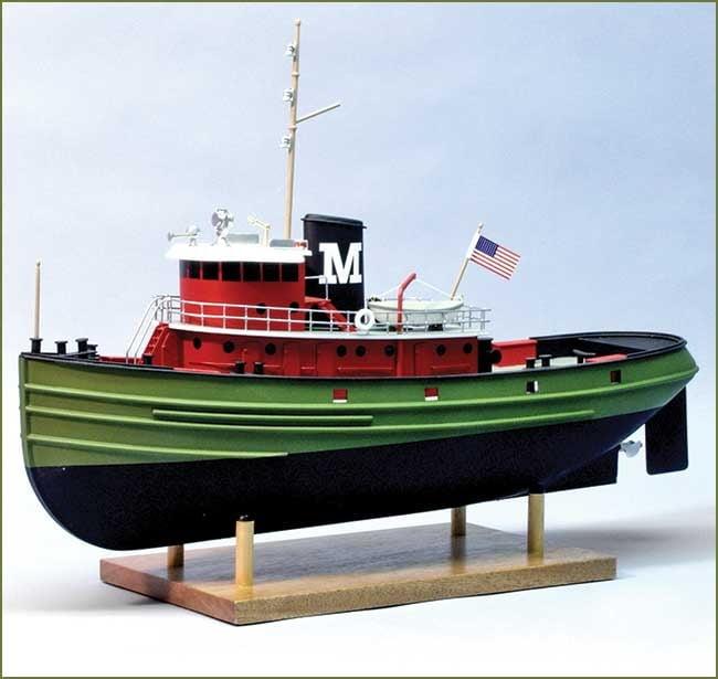 Carol Moran Harbour Tug 1:72 Scale RC Ready Model Boat Kit 1250   Hobbies