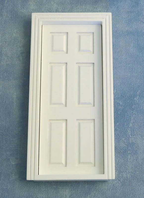 12th Scale Dolls House Internal Georgian Door With
