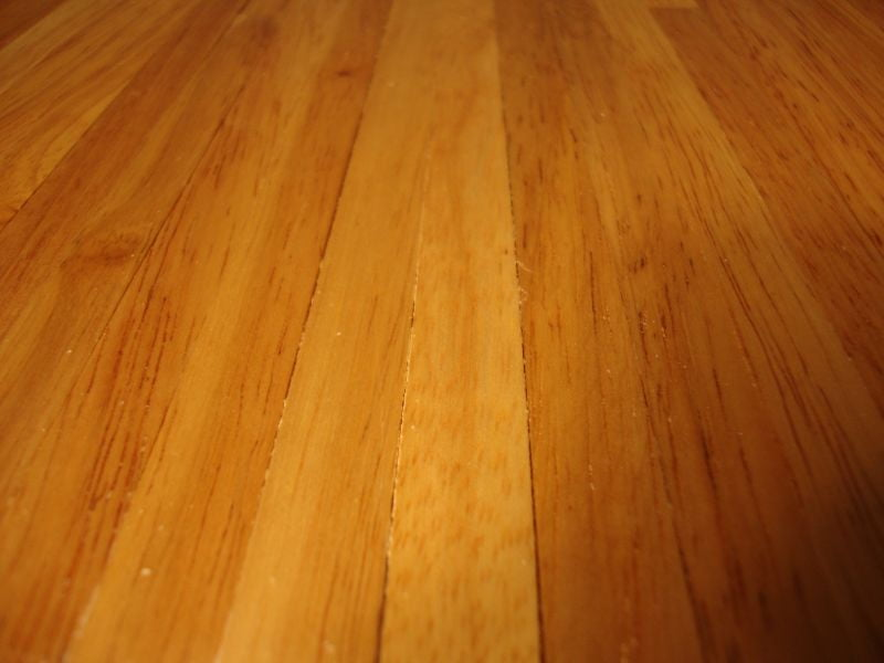 Real Wood Stained Light Flooring 450mm X 285mm Sheet For 1 12 Scale Dolls House