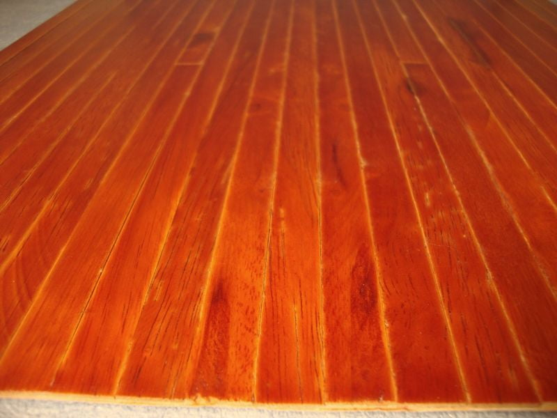 Real Wood Stained Medium Flooring 450mm X 285mm Sheet For 1 12 Scale Dolls House