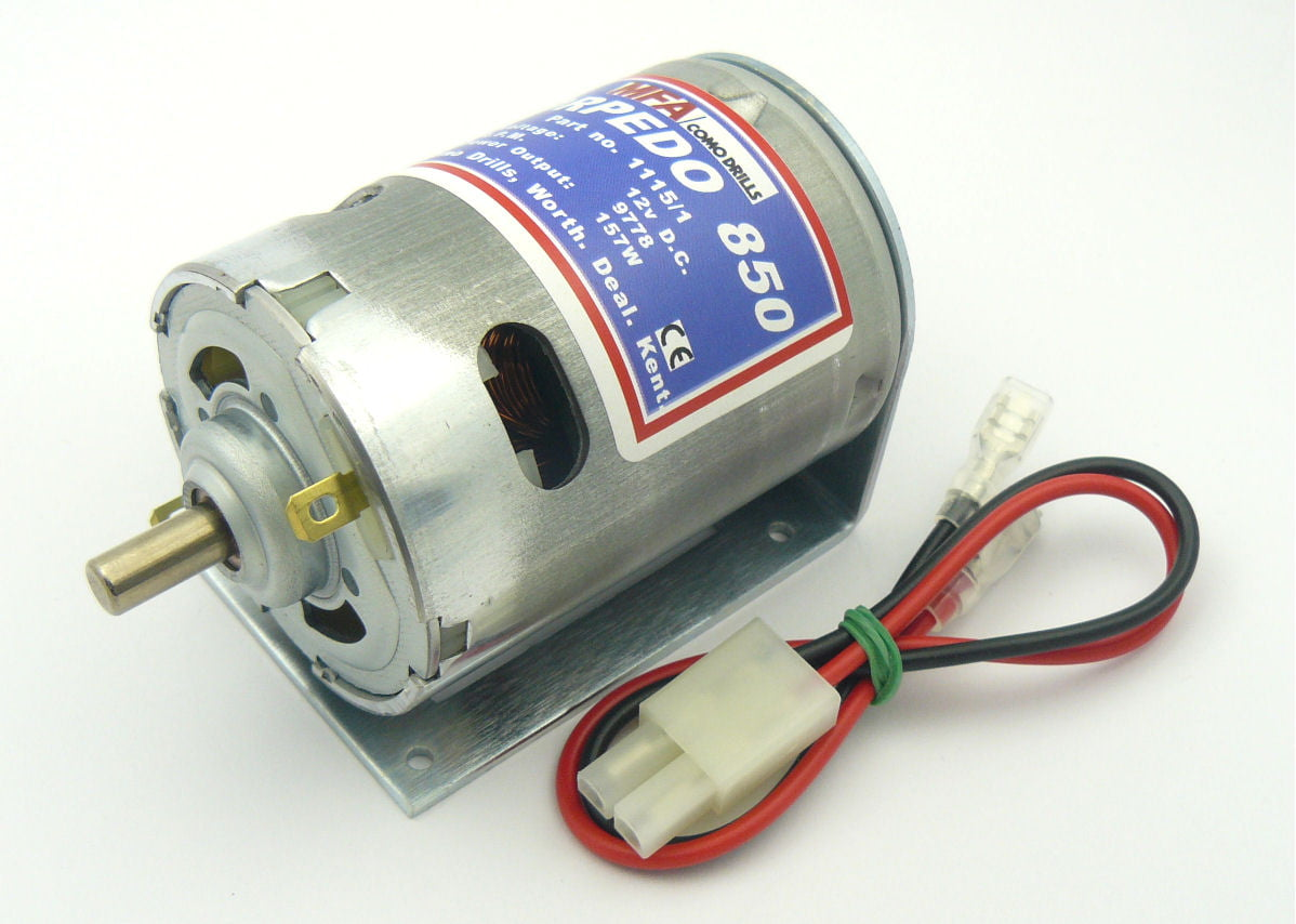 Torpedo 850 Electric Motor 12v Available From Hobbies