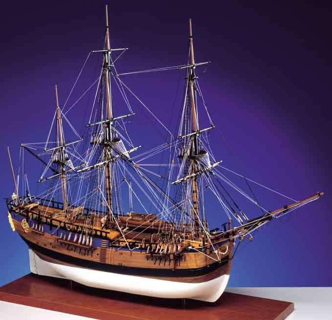 Caldercraft HM Bark Endeavour 1768 1:64 Scale Model Kit HPS/9006 | Hobbies