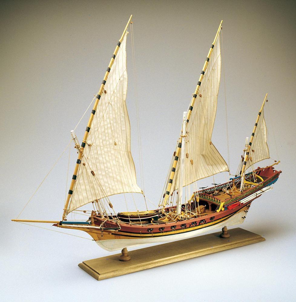 Amati Xebec Wooden Model Ship Kit 1753 | Hobbies