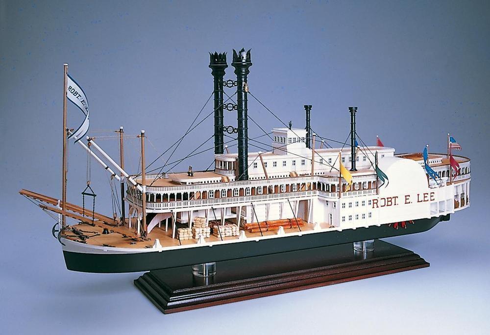 Amati Robert E Lee Model Boat Kit 1439 Hobbies