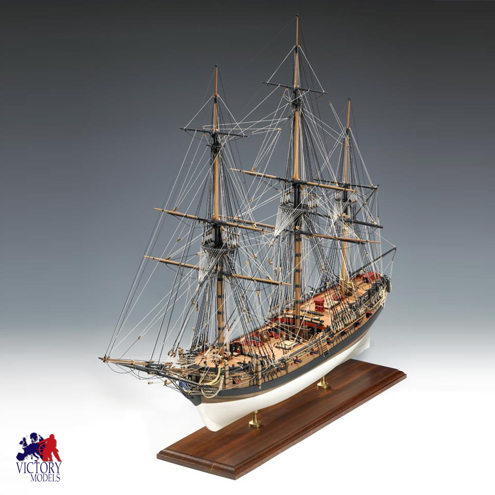 Victory Models HMS Fly Circa 1776 1:64 Scale Wooden Model ...
