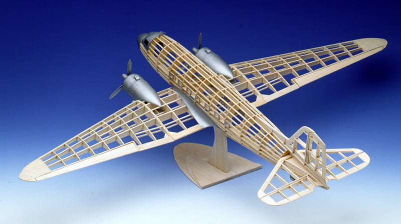 Guillow Douglas Dc3 Wooden Balsa Aircraft Kit G804 Hobbies