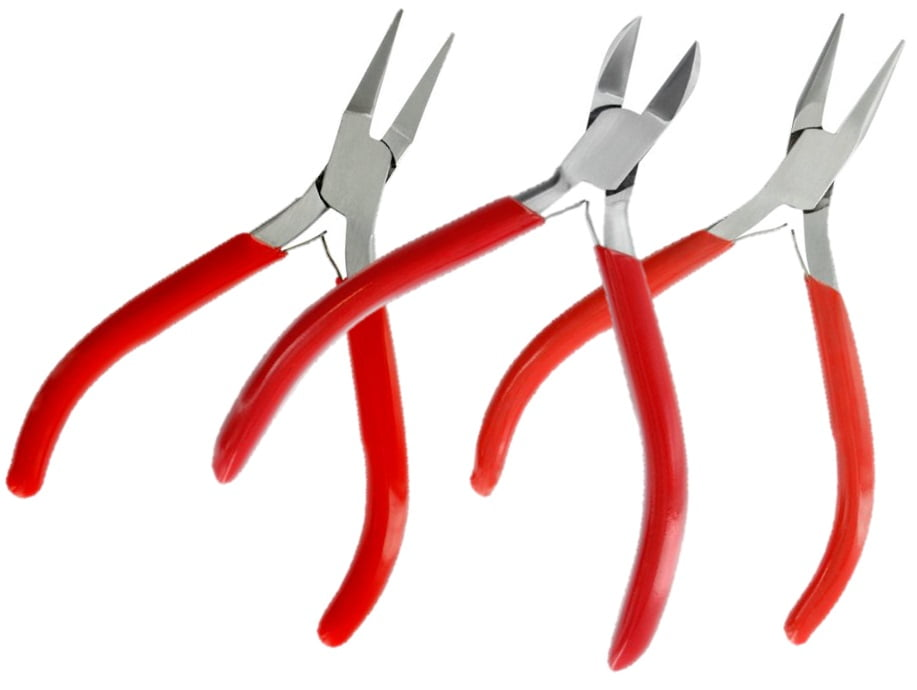 Hobbies 3 Piece Precision Needle File Set /& Universal Needle File Handle