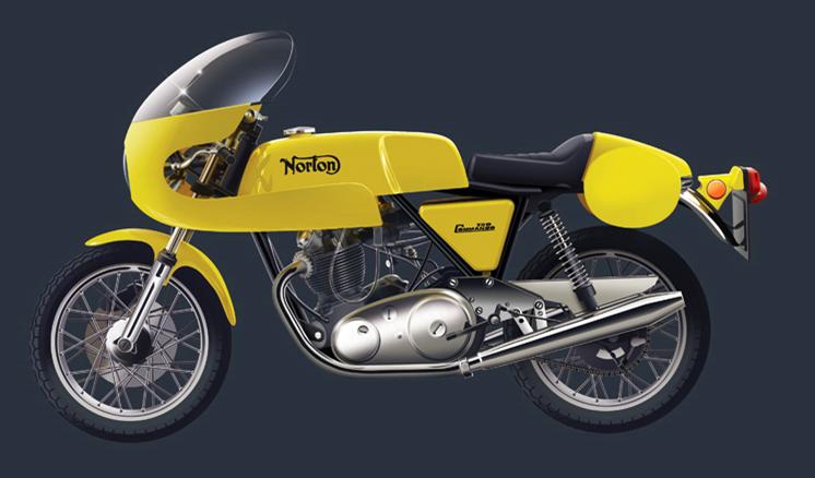 Italeri 1967 Norton Commando Pr 750cc Motorcycle 1 9 Scale