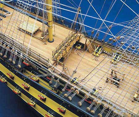 Hms Victory High Spec Model Boat Kit From Mantua Hobbies