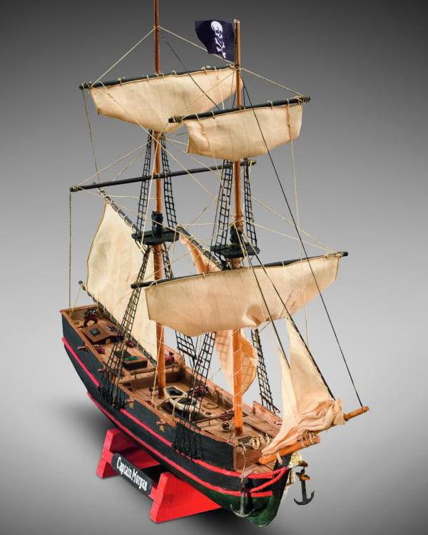 Mini Mamoli 1:135 Scale Captain Morgans Wooden Boat Kit MM05 | Hobbies