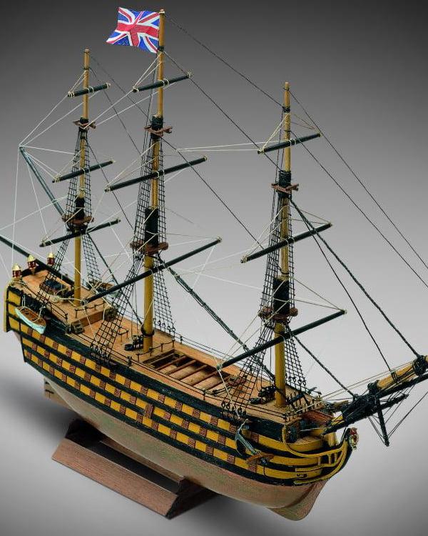 Mini Mamoli HMS Victory 1:325th Scale Wooden Boat Kit MM12 ...