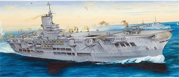 Merit International Ark Royal 1939 1:350 Scale Model Ship Kit