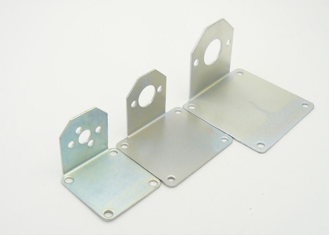 Metal motor mounts for electric motors used model boats for Electric motor mount bracket