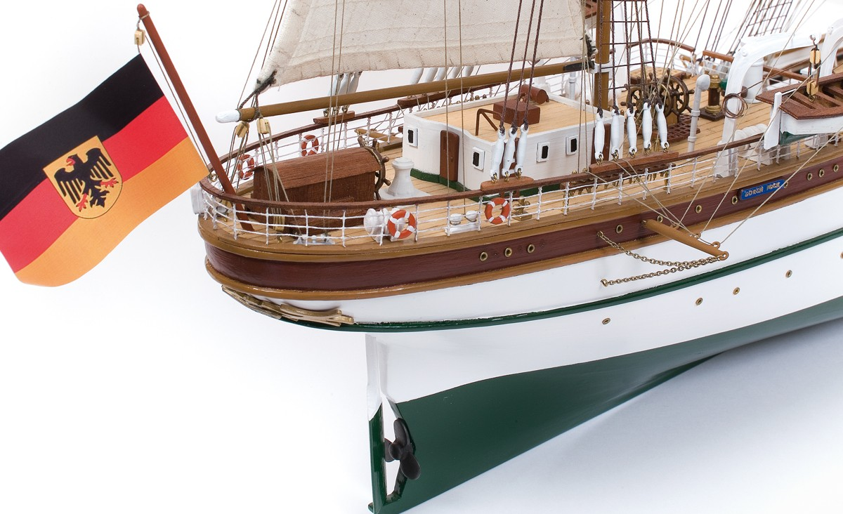 Boat Kits Product : Occre gorch fock scale model ship kit hobbies