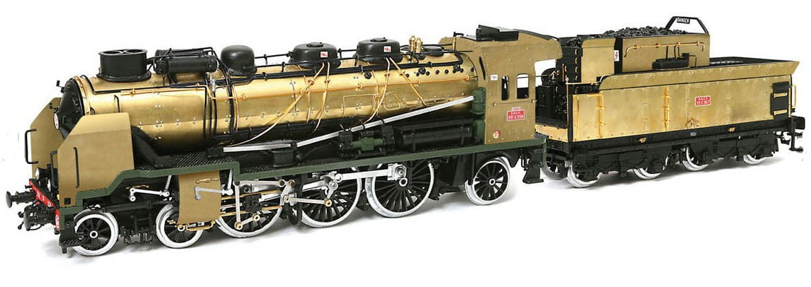 Occre Pacific 231 Train Locomotive 132 Scale Wood And Metal Model Kit