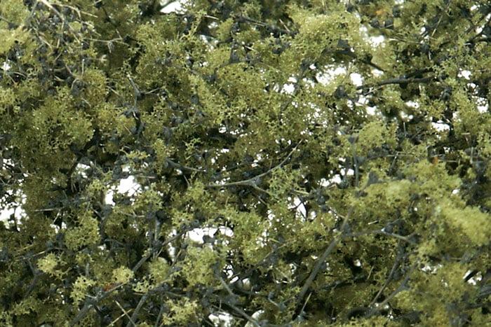Woodland Scenics Olive Green Leaf Foliage Hobbies