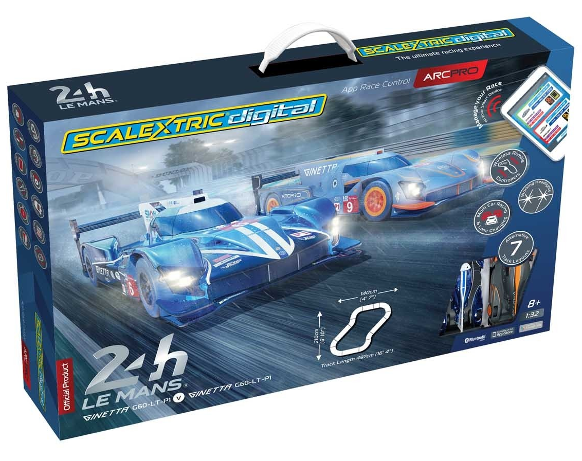 ARC PRO 24H Le Mans Set (2 x Ginetta's) - NEW TOOLING 2019