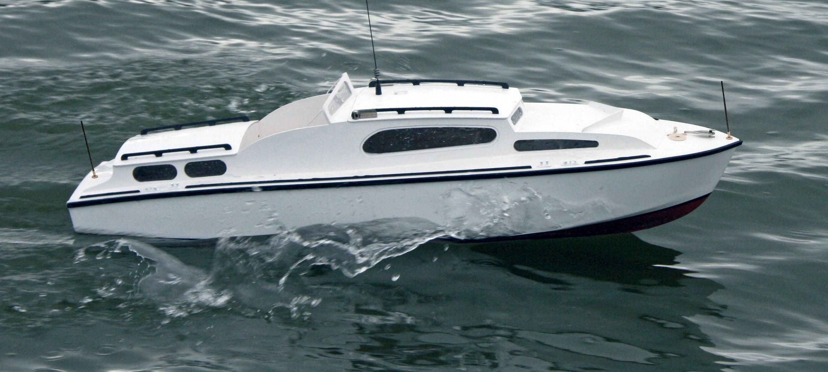 Aerokits Sea Commander 34  Cabin Cruiser Kit | Hobbies