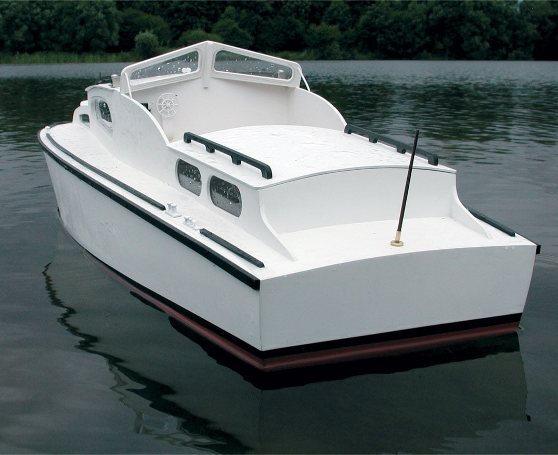Boat Kits Product : Aerokits sea commander  cabin cruiser kit hobbies