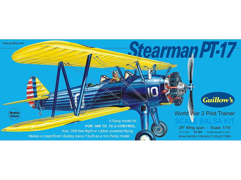 Balsa Build Airplane Kit    Inch