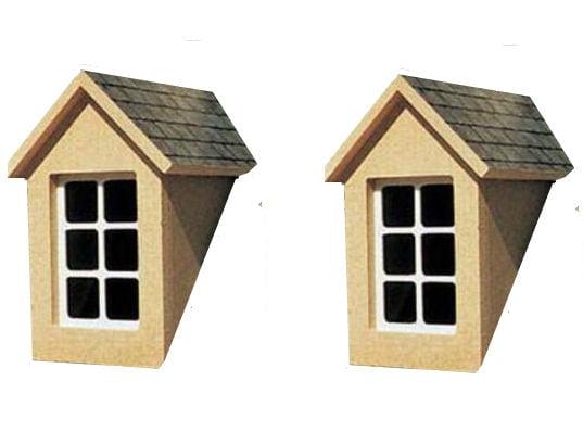 12th Scale Dormer Window Kit 1 Pair