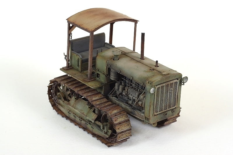 Trumpeter Russian Chtz S 65 Artillery Tractor 1 35 Scale